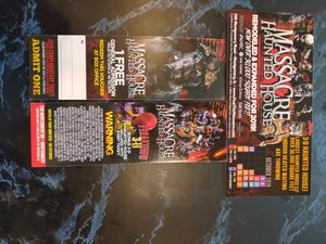 Haunted house tickets for Sale in Naperville, IL