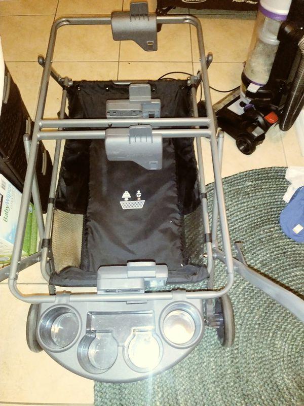Joovy twin roo plus double stroller frame