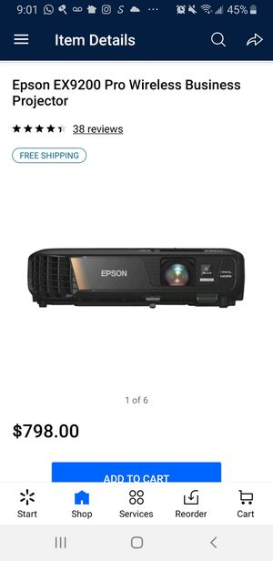 Epson EX9200 projector great condition for Sale in Carlsbad, CA