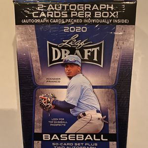 2020 Topps Leaf Draft Baseball Box - 52 Cards for Sale in Linthicum Heights, MD