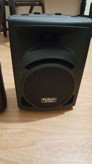 Podium Pro Audio PP810 Speakers for Sale in Apollo Beach, FL