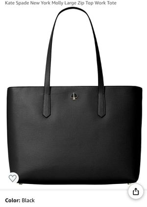 Kate Spade New York Molly Large Ziptop Tote for Sale in VA, US