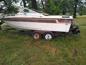 Boat and trailer for Sale in Lorain, OH