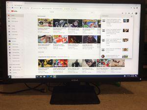 Dell 27 inch monitor IPS 1920x1080p , VGA,DisplayPort, DVI for Sale in Escondido, CA