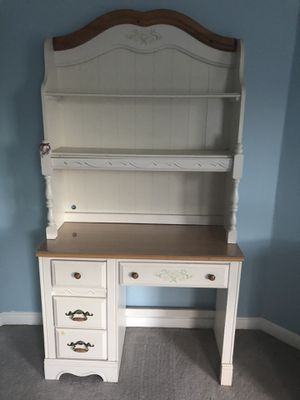 Furniture- dresser and mirror, desk and hutch for Sale in Medway, MA