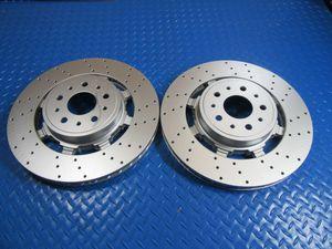 Maserati GranTurismo Gt front disk brake rotors drilled PREMIUM QUALITY 2pcs #6707 for Sale in Miami, FL