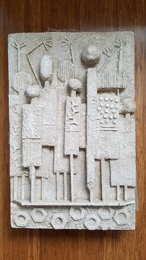 sandstone wall sculpture for Sale in Germantown, MD