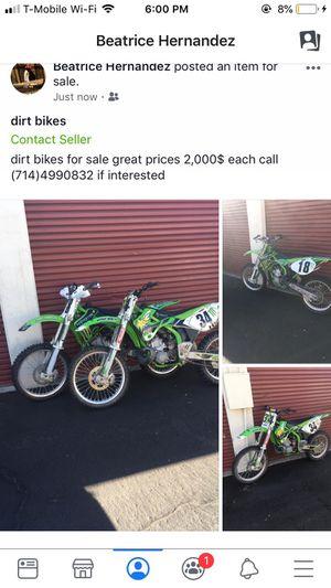 dirt bikes seller for Sale in Santa Ana, CA
