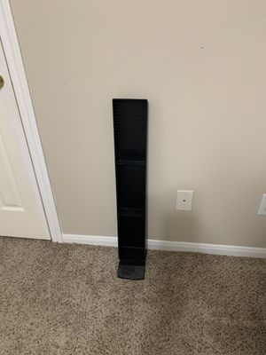 Black plastic CD/DVD holder - Katy Tx for Sale in Katy, TX