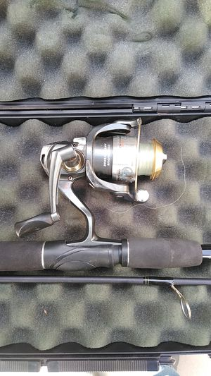 Quantum Bill Dance select 20 reel with Roddy Limited edition rod in gun case for Sale in Whittier, CA
