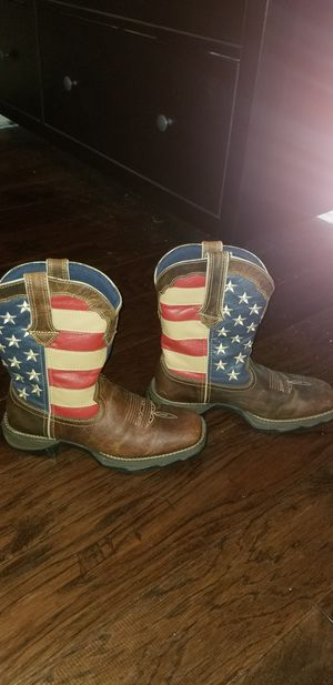 American Flag Boots - Size9M for Sale in Dyer, IN