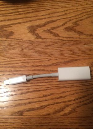 Macbook Thunderbolt Adapter for Ethernet Cable for Sale in Pittsburgh, PA