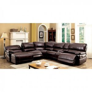 🔥New! Upscale leather recliner sofa sectional for Sale in San Diego, CA