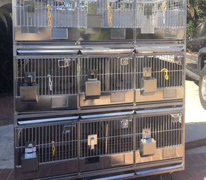 Stainless Steel Animal Cages for Sale in Santa Ana, CA