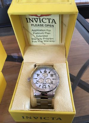 Invicta stainless steel Water Resis Watch for Sale in Silver Spring, MD