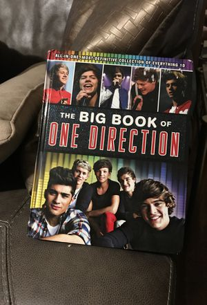 One Direction book(Everything you want to know about the group One Direction for Sale in Eclectic, AL