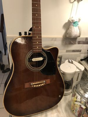 Ericsson electric guitar with belt for Sale in Germantown, MD