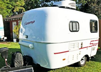 Great for camping❤❤❤ 2008 Scamp 13' Camper😍😍😍 for Sale in Wichita,  KS