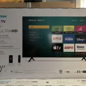 """BRAND NEW 50"""" HISENSE ROKU 4K SMART TV for Sale in Orange, CA"""