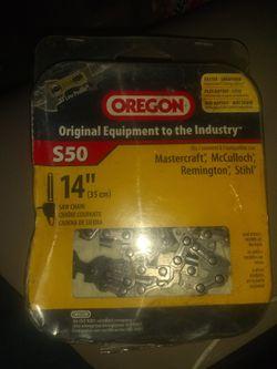 Oregon chainsaw for Sale in Wichita,  KS
