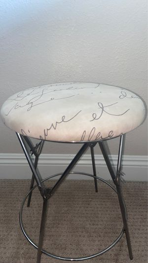 Vintage autographed stool for Sale in San Clemente, CA