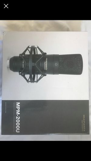Marantz High Quality Studio Condensor Mic For Daw Recording for Sale in Queens, NY