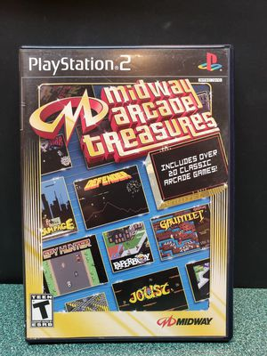 Midway Arcade Treasures - Playstation 2 PS2 Game Complete for Sale in Perris, CA