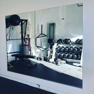 Gym Wall Mirror 4' x 8' for Sale in Chula Vista, CA