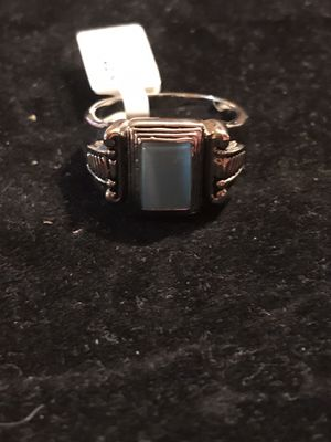 BRAND NEW LADIES VINTAGE STYLE BLUE CAT'S EYE RING SIZE 11 for Sale in Seaford, DE