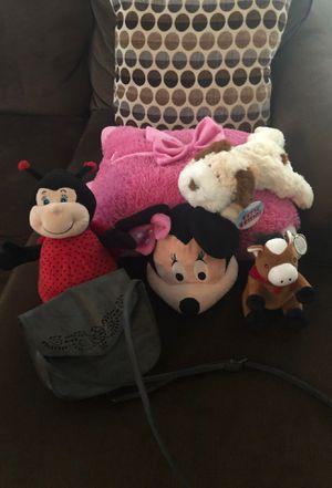 teddy bears & purse for Sale in North Las Vegas, NV