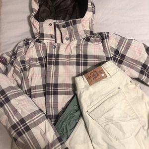 Women's Burton Snowboarding Jacket & Pants for Sale in Long Beach, CA