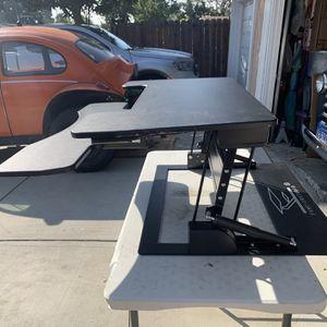 Adjustable Standing Desk Riser - Fancierstudio for Sale in Whittier, CA