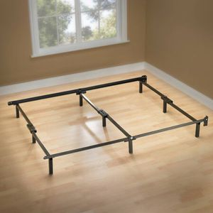 """Spa Sensations 7"""" Low Profile Adjustable Steel Bed Frame, Easy No Tools Assembly, Twin - Queen size for Sale in Bellaire, TX"""