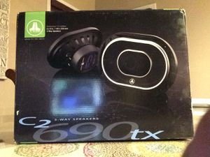 C2 690 TX JL Audio 6x9 3way Speakers for Sale in Bakersfield, CA