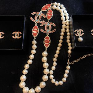 Fashion White Long Pearls Necklace Set for Sale in Fremont, CA