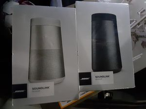 BRAND NEW IN BOX BOSE SOUNDLINK RESOLVE BLUETOOTH SPEAKERS ONLY $150 EACH OR BOTH FOR $275!! for Sale in Hurst, TX