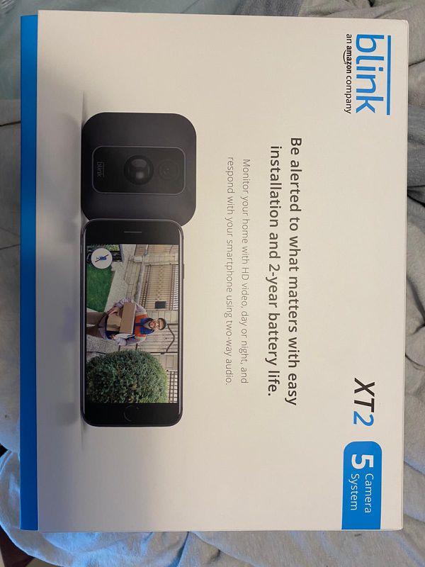 5 Blink Cameras