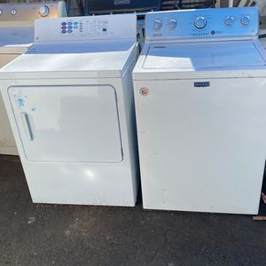 Maytag Commercial technology Washer GE Eterna Series dryer for Sale in New Haven, CT