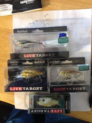 Live Target Lures for Sale in Galion, OH