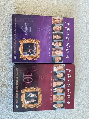 Friends DVD season 5 and 10 for Sale in Issaquah, WA