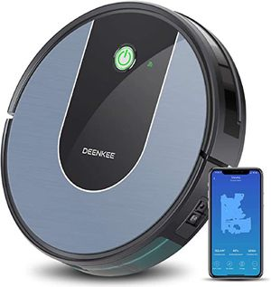 New Robot Vacuum Cleaning Works with Wi-Fi and Alexa, Super Suction, Super Thin,120 Mins Runtime Smart Navigation and house mapping for Sale in Chino, CA