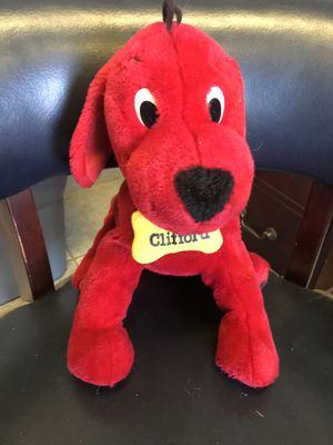 Clifford the big red dog stuffed animal for Sale in Preston, CT