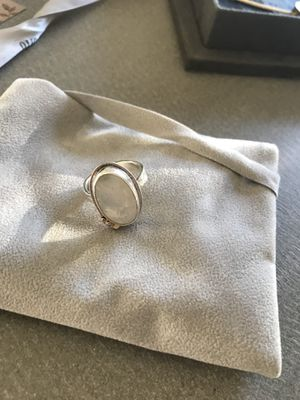 Beautiful 14 k authentic omega moonstone ring for Sale in Baltimore, MD