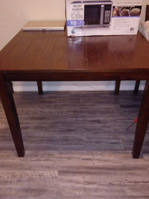 Wood dinning table for Sale in Tulsa, OK
