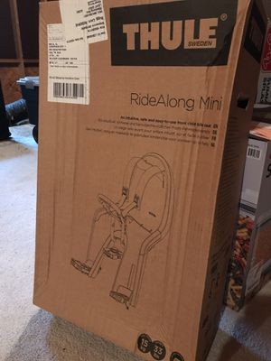 Thule RideAlong Mini Baby Bike Seat, New in Box for Sale in Apex, NC