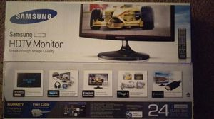 New in Box Samsung 24 inch LED HDTV Monitor for Sale in Bend, OR