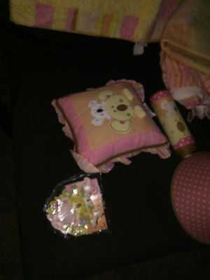 """Baby room """"tropical punch"""" accessories for Sale in Greensburg, PA"""