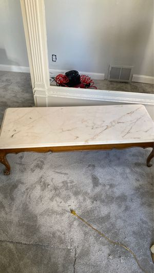 Solid marble coffee table for Sale in Mansfield, OH