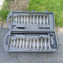 Weight storage box on wheels for Sale in Galloway, OH