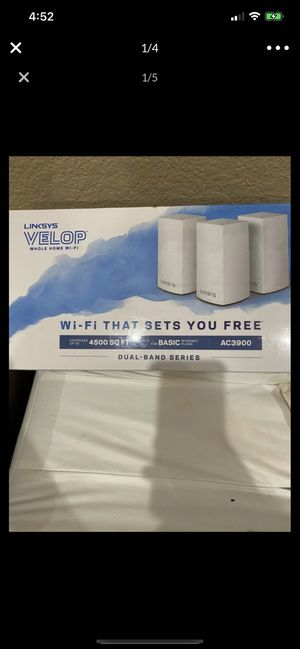 Linksys velop - home WiFi - BRAND NEW SEALED for Sale in El Cajon, CA